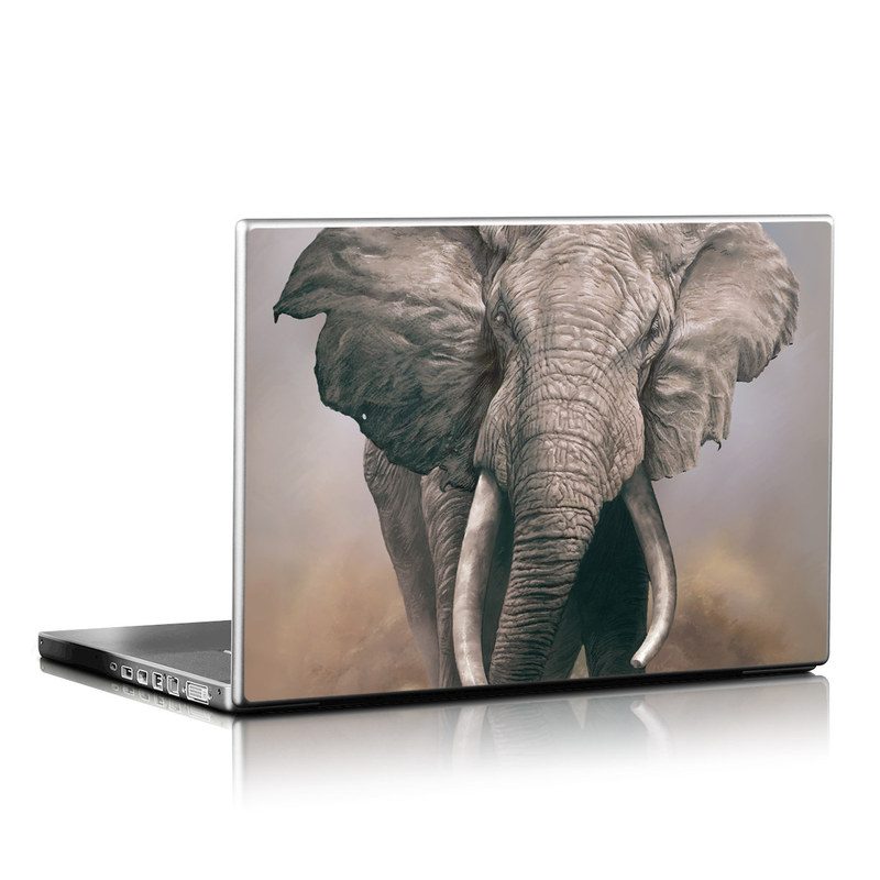 African Elephant Laptop Skin