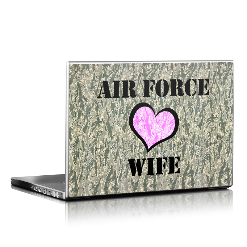 Air Force Wife Laptop Skin