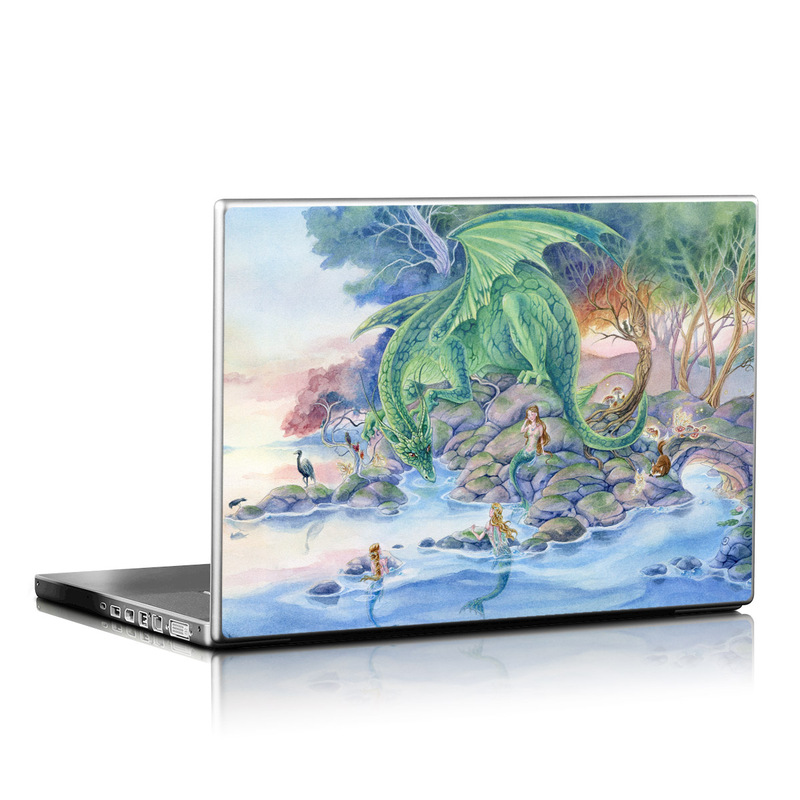 Of Air And Sea Laptop Skin