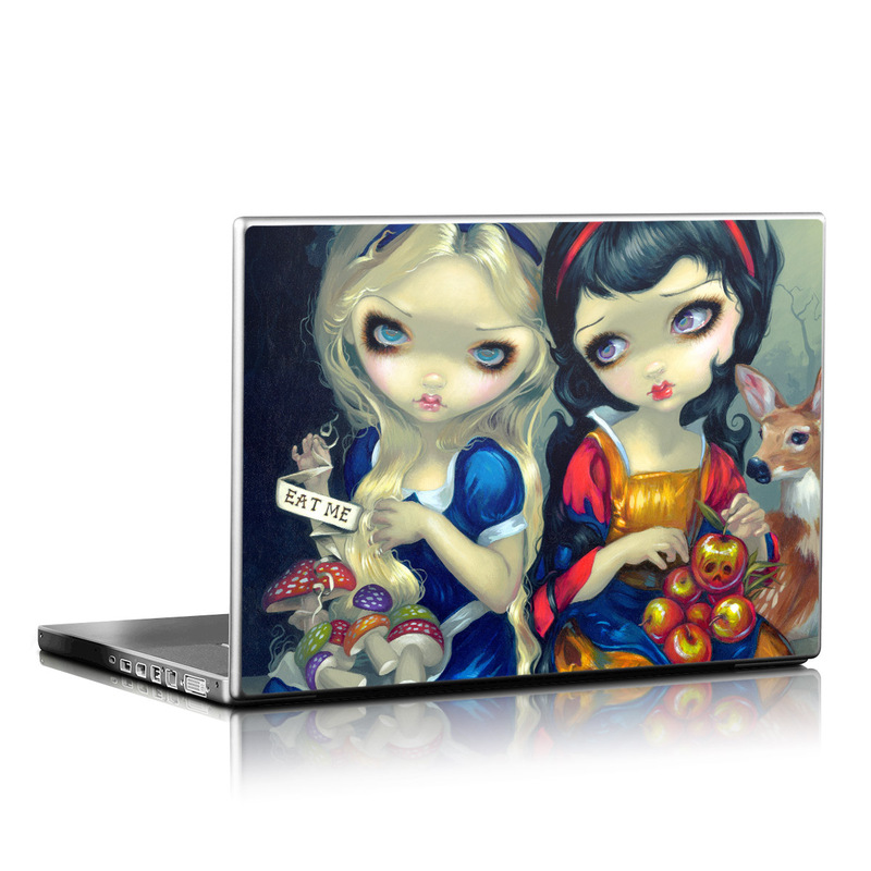 Alice & Snow White Laptop Skin