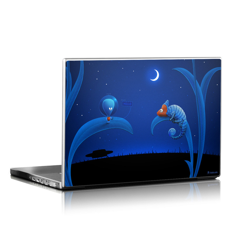 Alien and Chameleon Laptop Skin