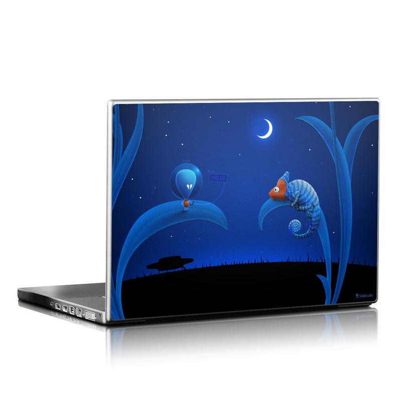 Alien and Chameleon Laptop Skin