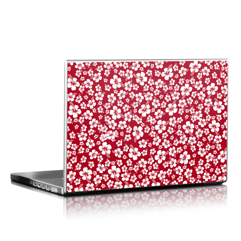 Aloha Red Laptop Skin