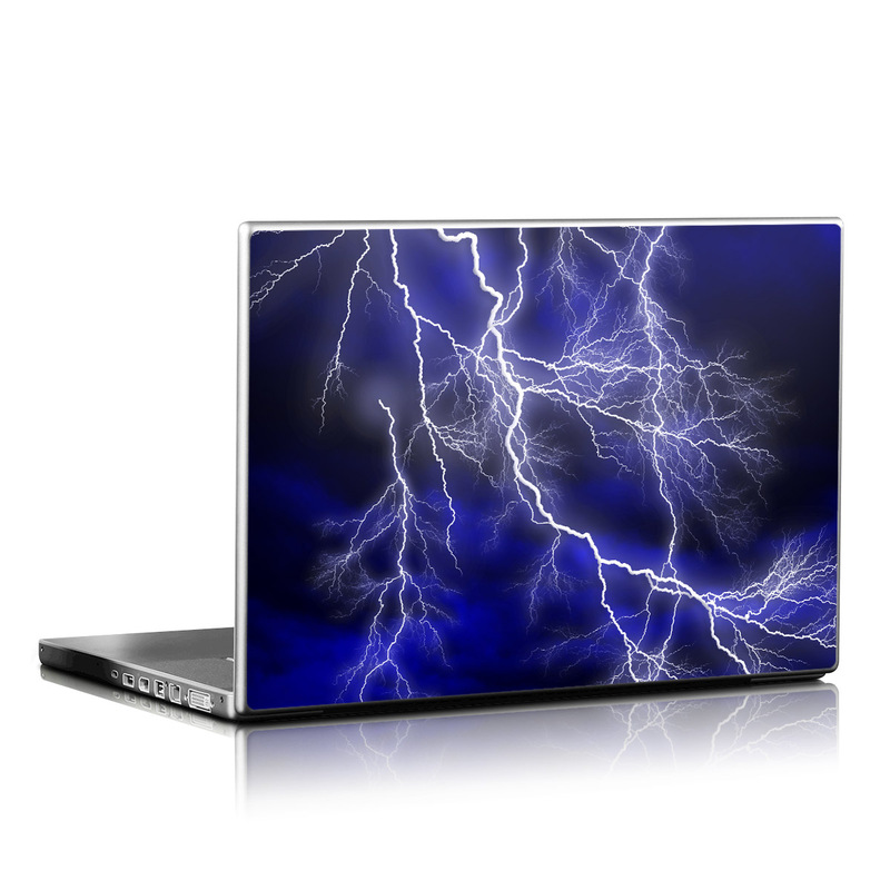 Apocalypse Blue Laptop Skin