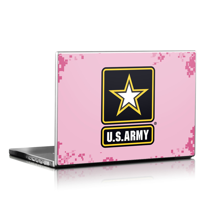 Army Pink Laptop Skin