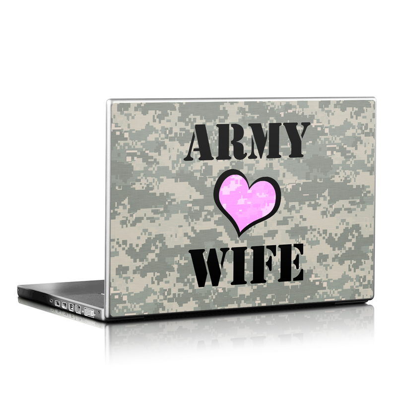 Army Wife Laptop Skin