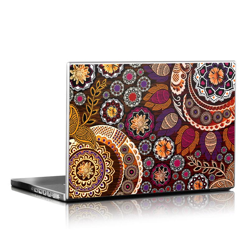 Autumn Mehndi Laptop Skin