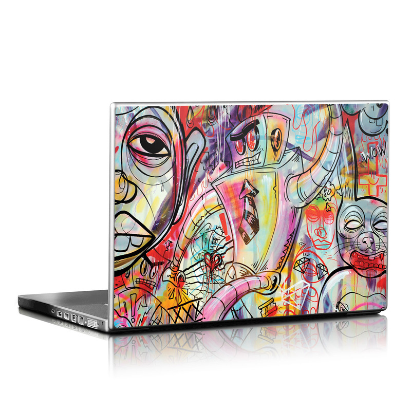 Battery Acid Meltdown Laptop Skin