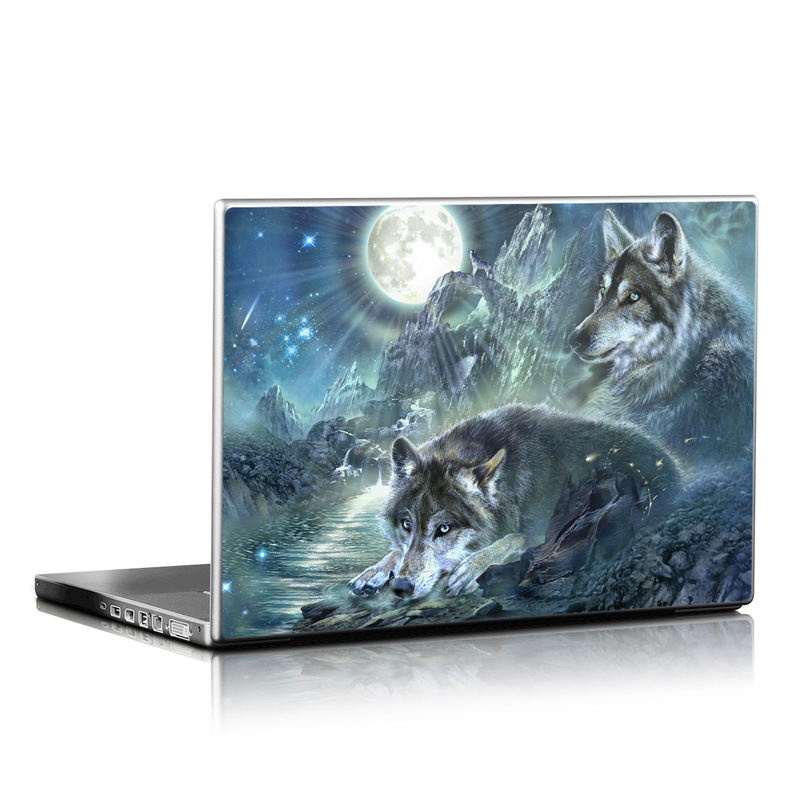 Bark At The Moon Laptop Skin