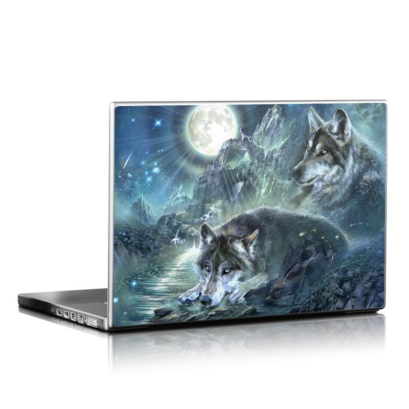 Bark At The Moon Laptop Skin