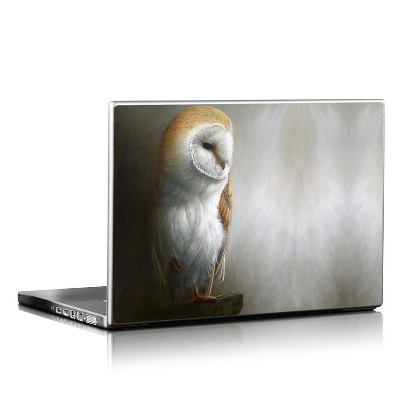Barn Owl Laptop Skin