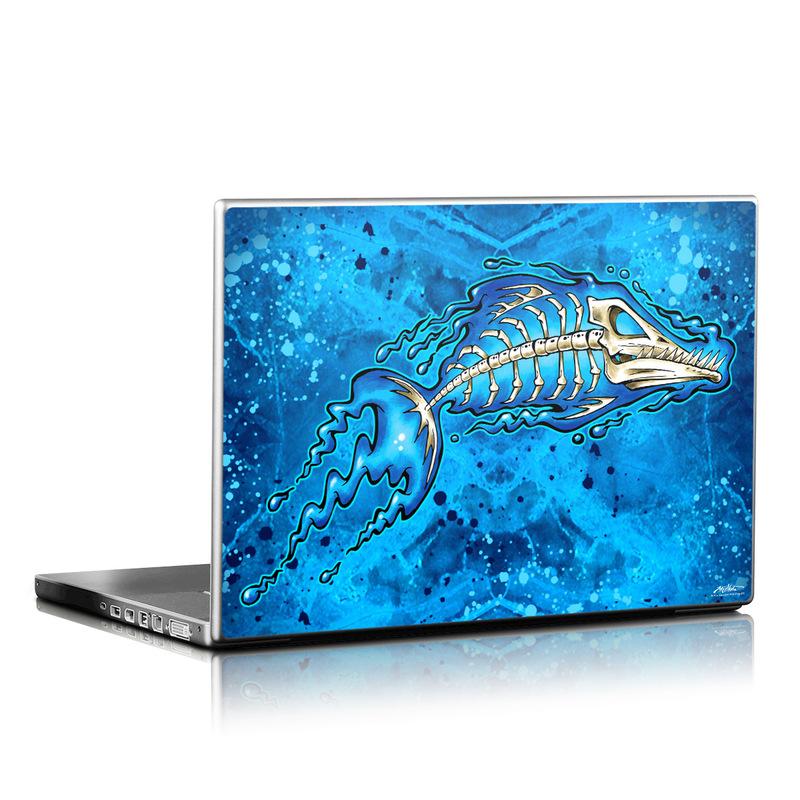 Barracuda Bones Laptop Skin