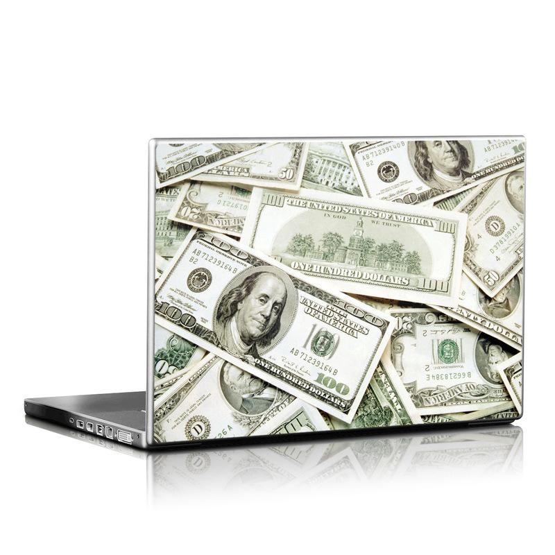 Benjamins Laptop Skin