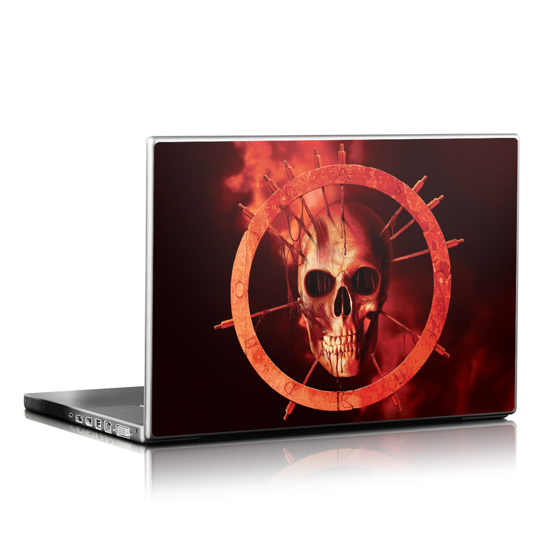 Blood Ring Laptop Skin