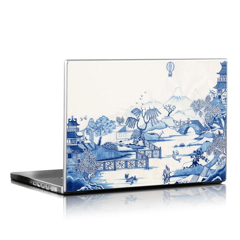 Blue Willow Laptop Skin