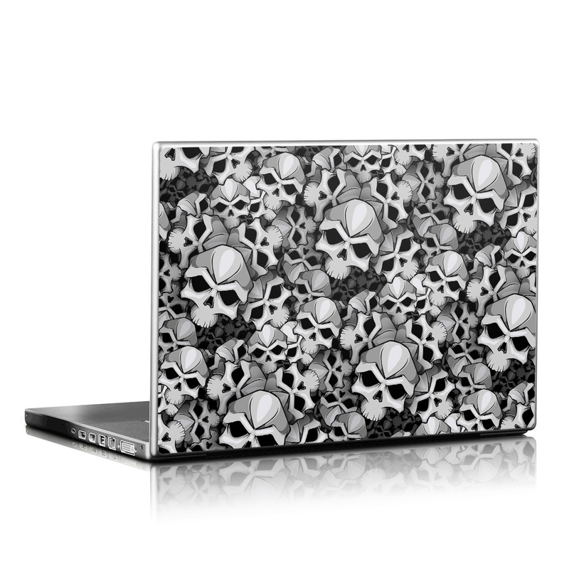 Laptop Skin design of Pattern, Black-and-white, Monochrome, Ball, Football, Monochrome photography, Design, Font, Stock photography, Photography with gray, black colors