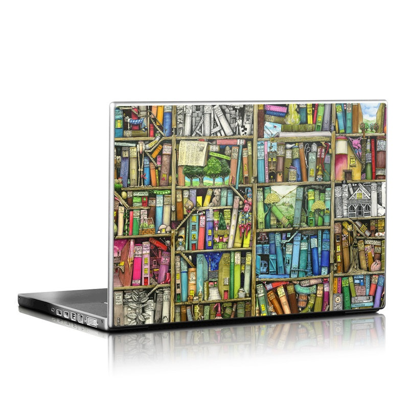 Bookshelf Laptop Skin