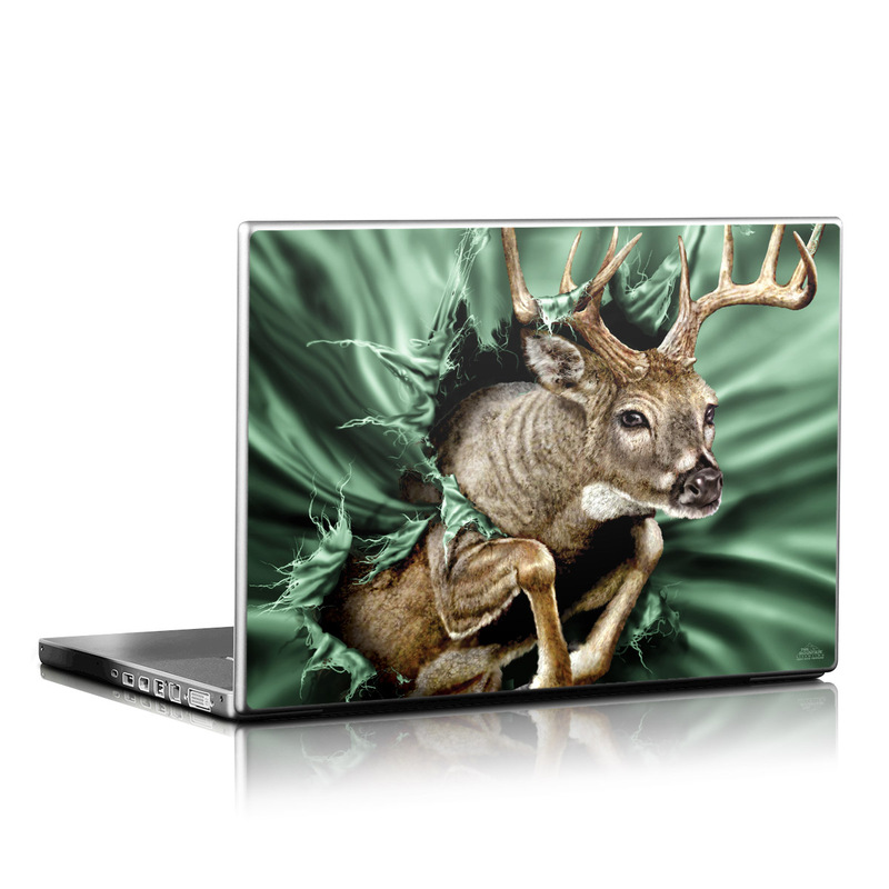 Break Through Deer Laptop Skin