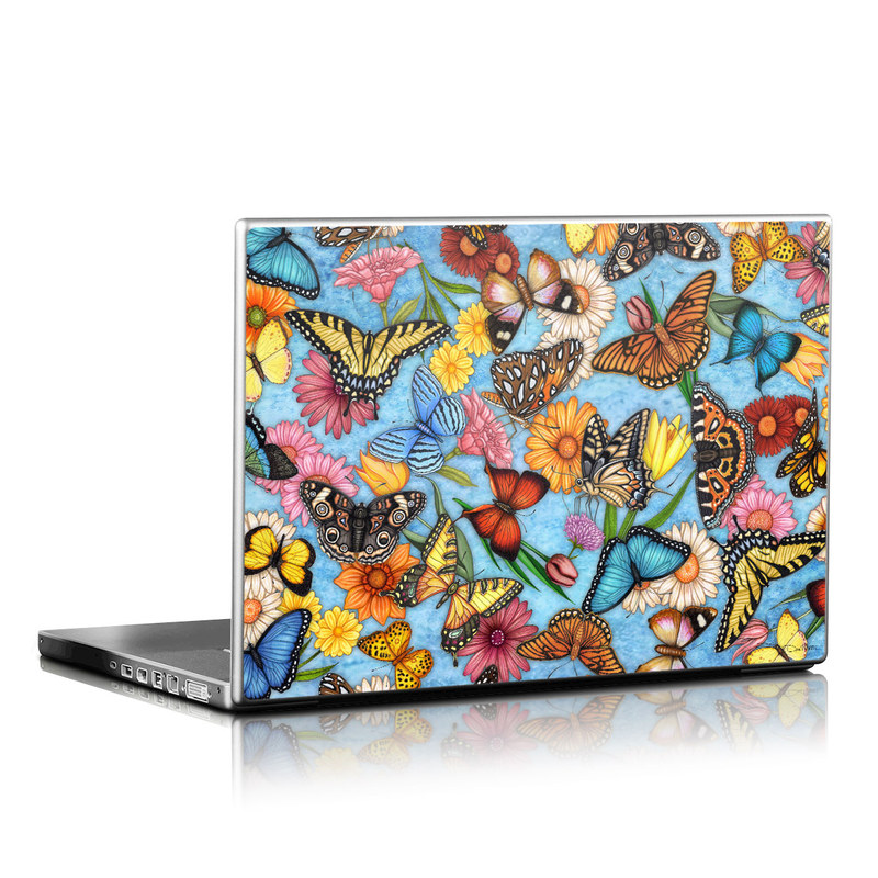 Butterfly Land Laptop Skin
