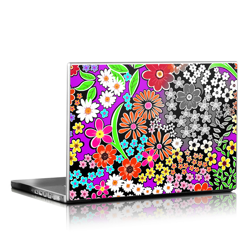 A Burst of Color Laptop Skin