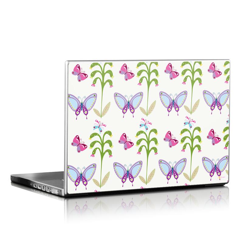 Butterfly Field Laptop Skin