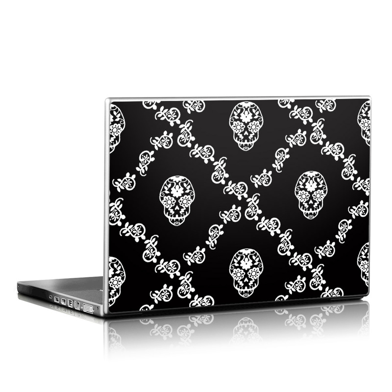 Calavera Lattice Laptop Skin
