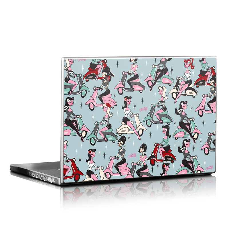Ciao Fluff Laptop Skin