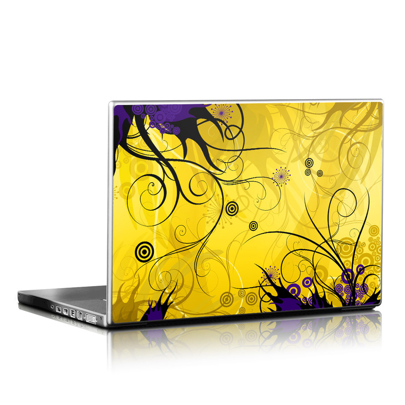 Chaotic Land Laptop Skin