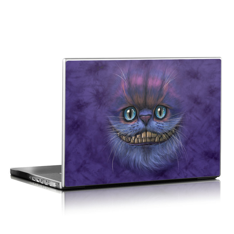 Cheshire Grin Laptop Skin