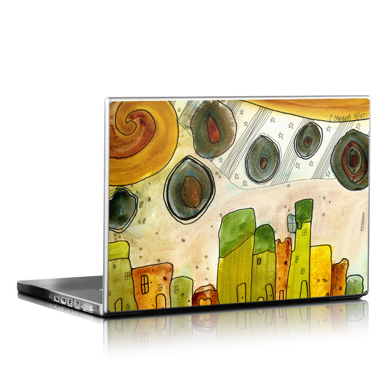 City Life Laptop Skin