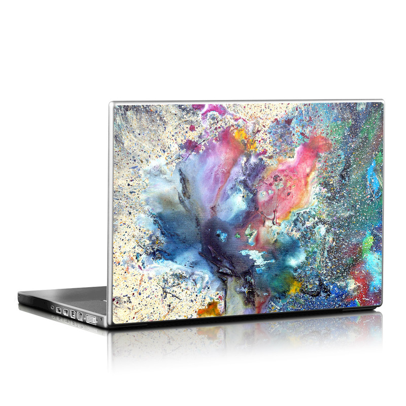 Cosmic Flower Laptop Skin