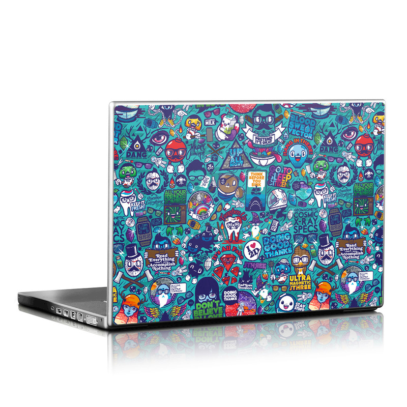 Cosmic Ray Laptop Skin