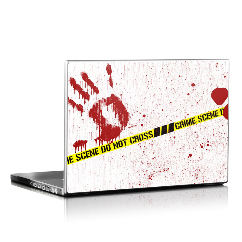 Laptop Skin design of Text, Font, Red, Graphic design, Logo, Graphics, Brand, Banner with white, red, yellow, black colors