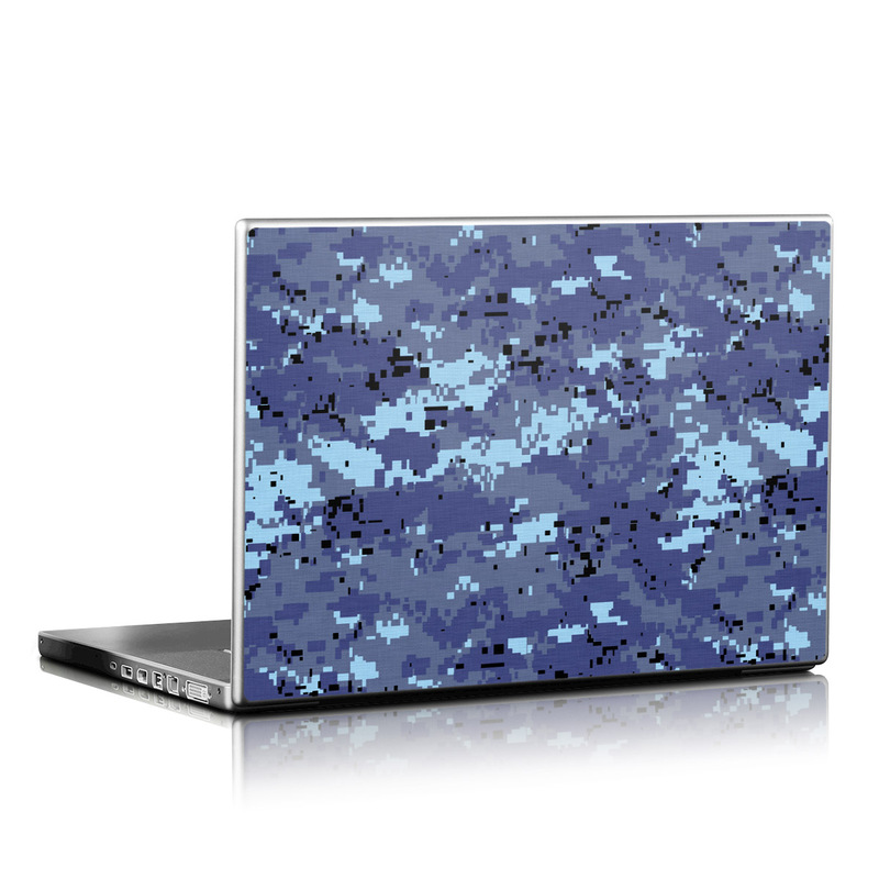 Digital Sky Camo Laptop Skin