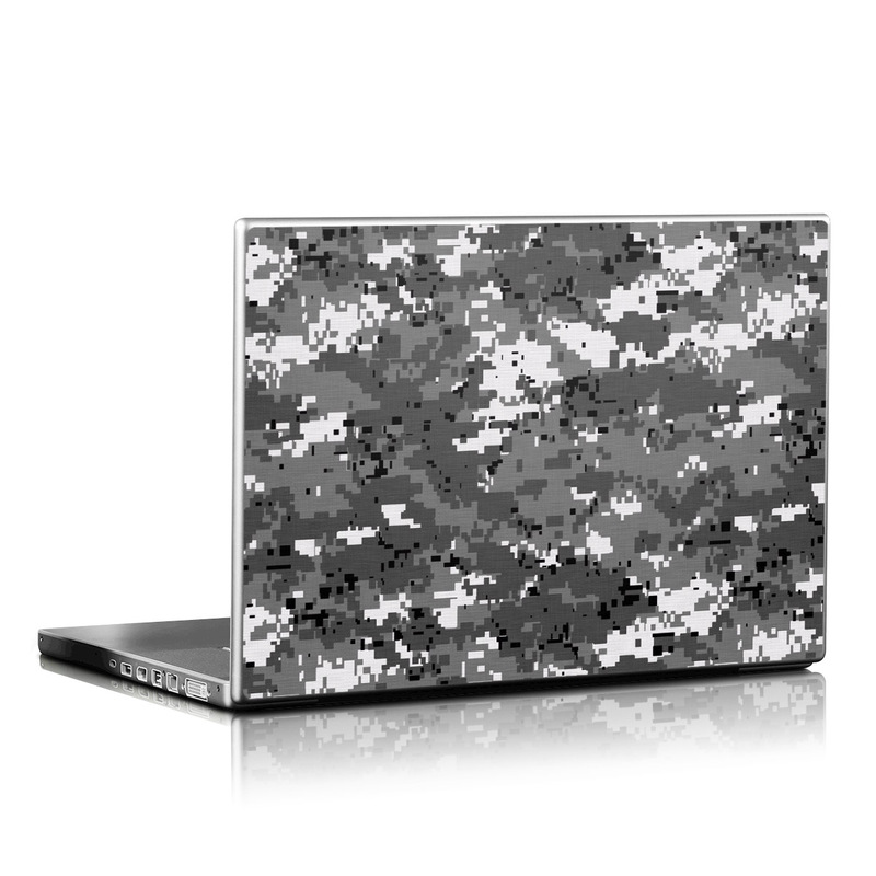 Digital Urban Camo Laptop Skin