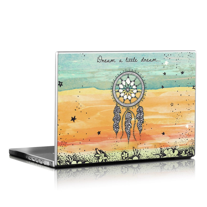 Laptop Skin design of Text, Sky, Font, Illustration, Plant, Art, Wildflower, sunflower, Graphics with blue, green, yellow, orange, black colors