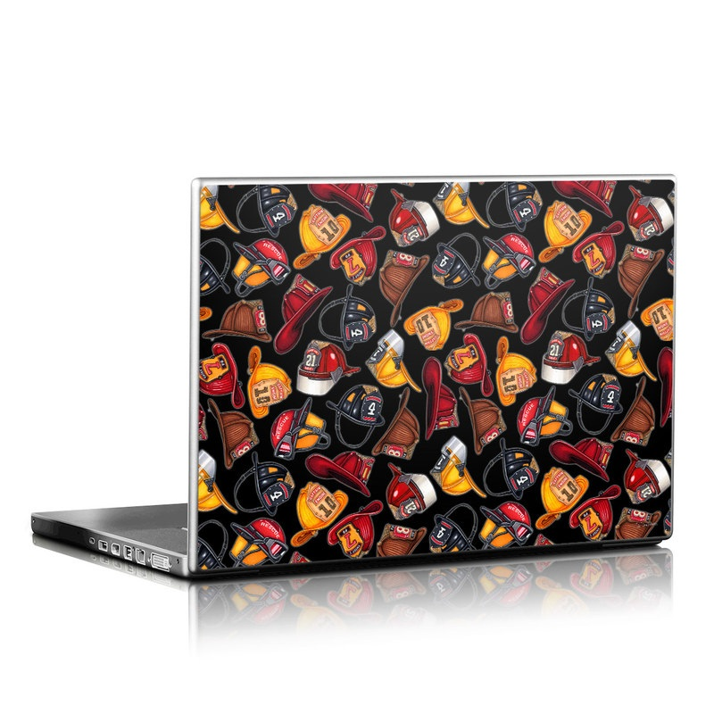 Fire Helmets Laptop Skin