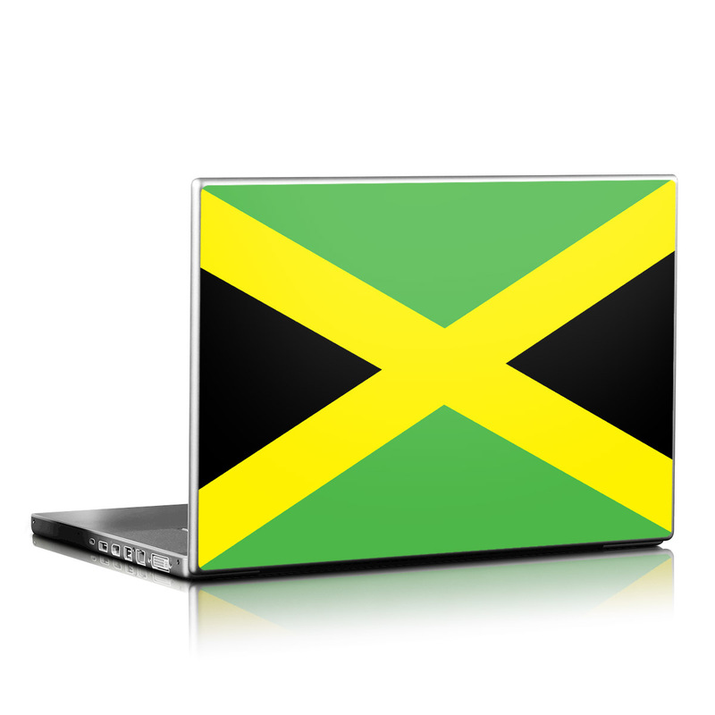 Jamaican Flag Laptop Skin