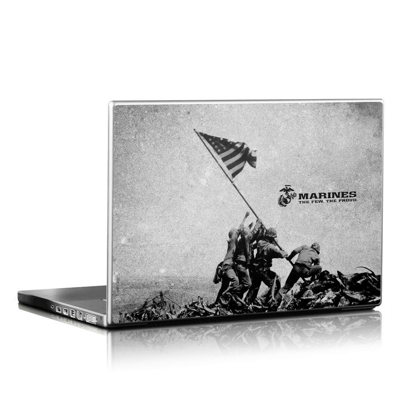 Flag Raise Laptop Skin