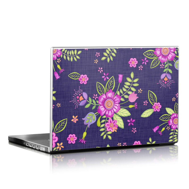 Folk Floral Laptop Skin