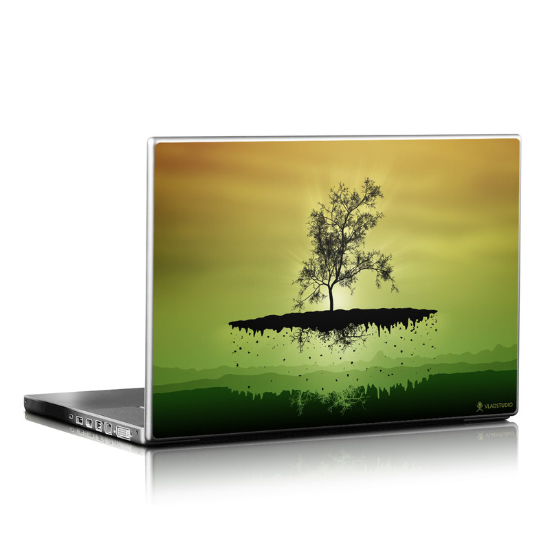 Flying Tree Amber Laptop Skin