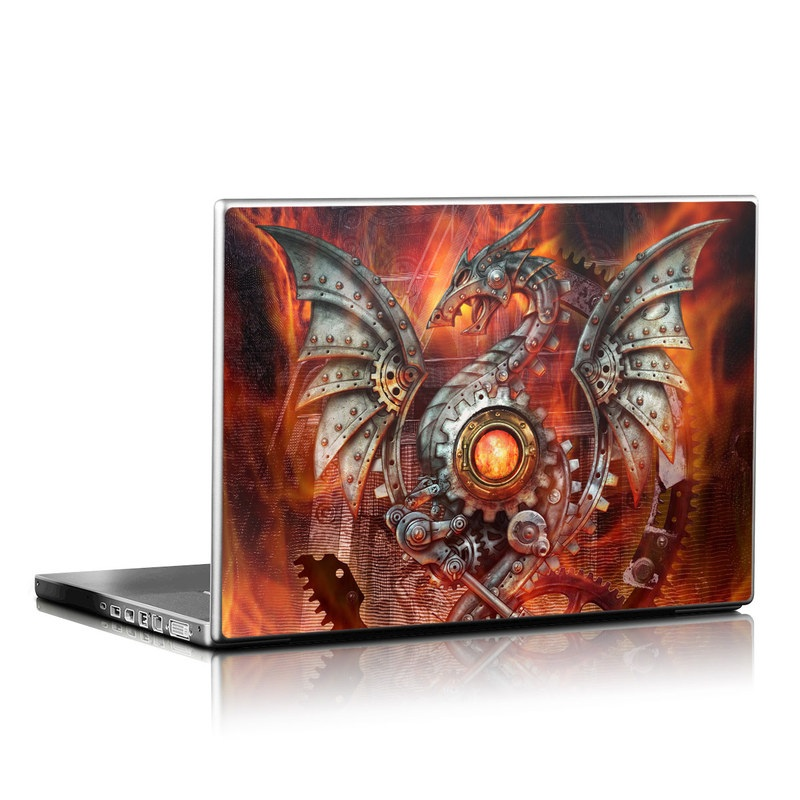 Furnace Dragon Laptop Skin