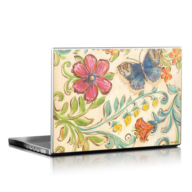 Garden Scroll Laptop Skin
