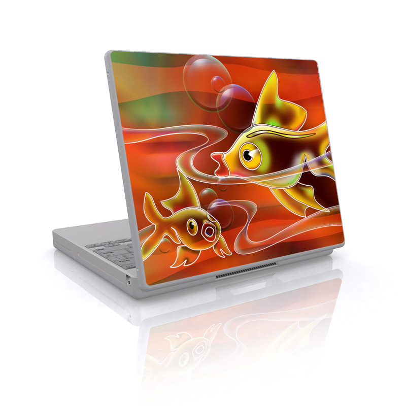 Goldfish Laptop Skin