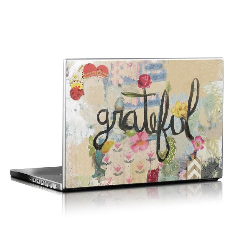 Grateful Laptop Skin