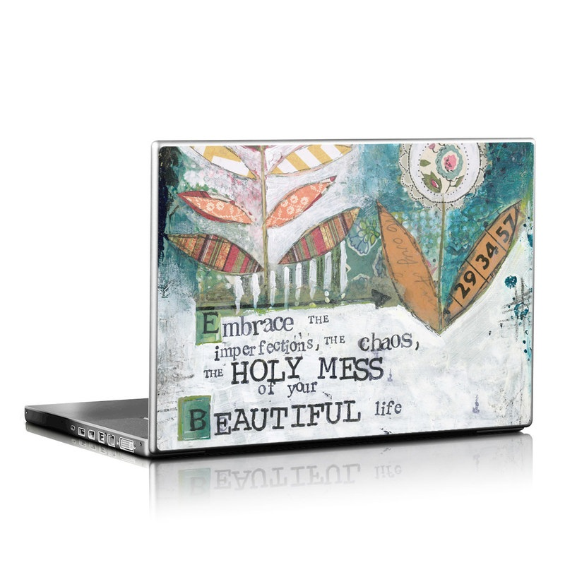 Holy Mess Laptop Skin