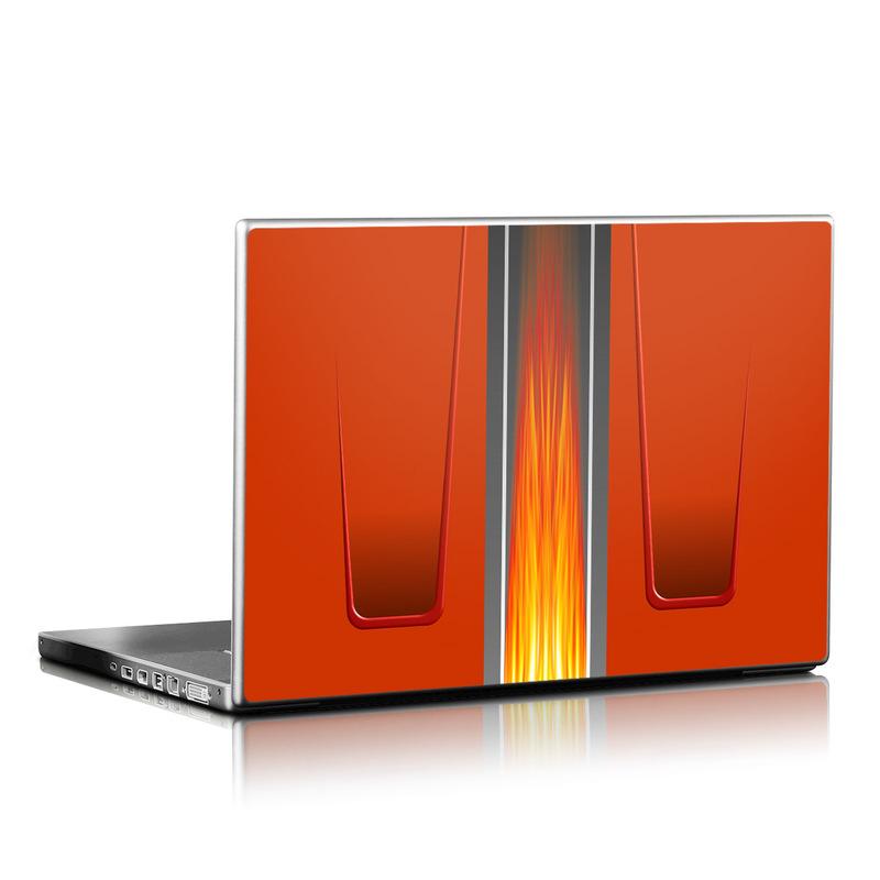Hot Rod Laptop Skin