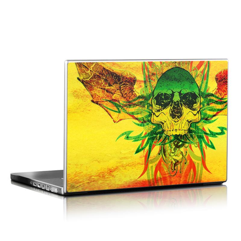 Hot Tribal Skull Laptop Skin