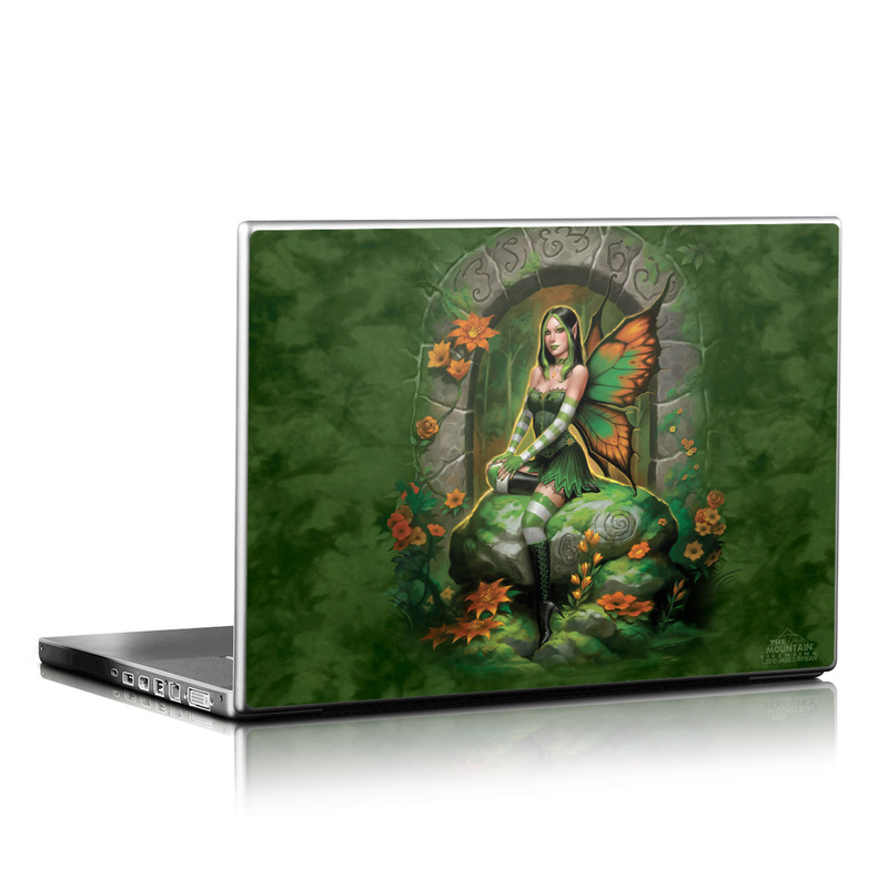 Jade Fairy Laptop Skin