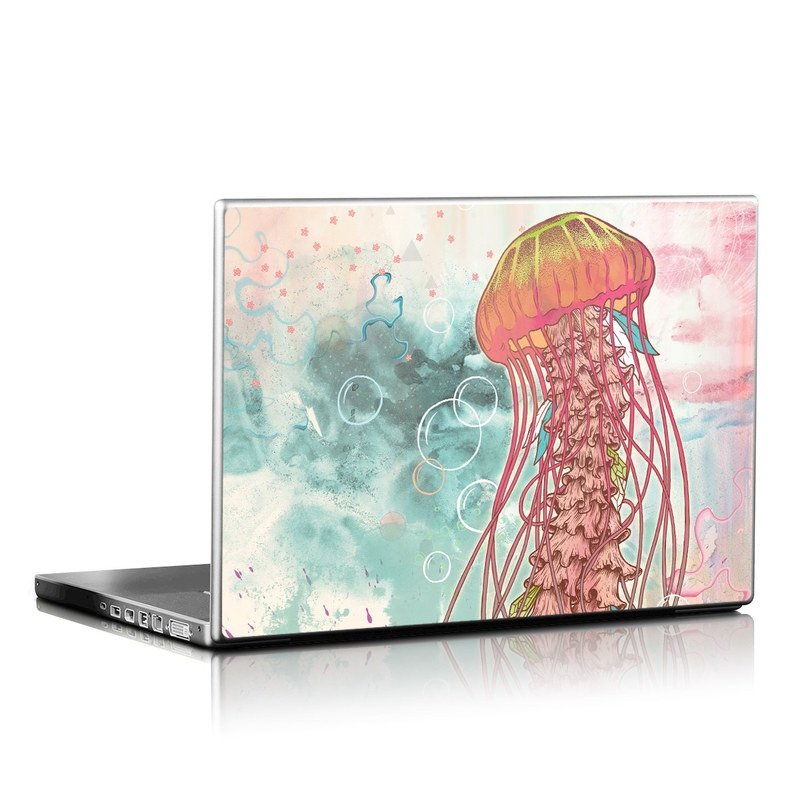 Jellyfish Laptop Skin